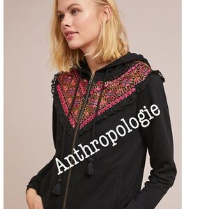 Anthropologie Tops - Anthropologie | Akemi& Kin Embroidered Hoodie